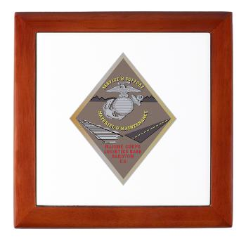 MCLBB - M01 - 03 - Marine Corps Logistics Base Barstow - Keepsake Box
