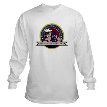 MCRC - A01 - 03 - Marine Corps Recruiting Command - Long Sleeve T-Shirt