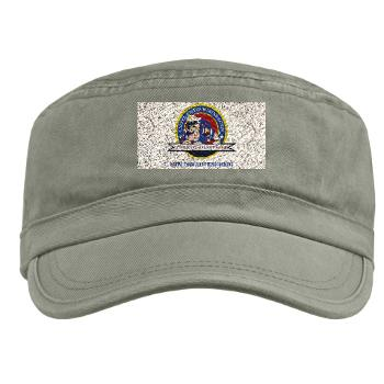 MCRC - A01 - 01 - Marine Corps Recruiting Command with Text - Military Cap