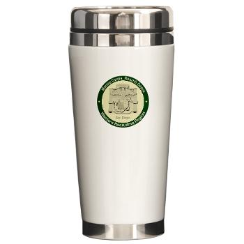 MCRDSD - M01 - 03 - Marine Corps Recruit Depot San Diego - Ceramic Travel Mug