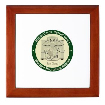 MCRDSD - M01 - 03 - Marine Corps Recruit Depot San Diego - Keepsake Box