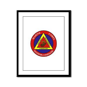 Marine Corps Systems Command - Framed Panel Print