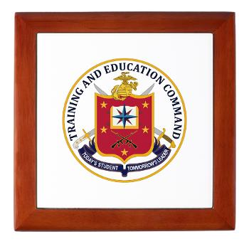 MCTEC - M01 - 03 - Marine Corps Training and Education Command - Keepsake Box