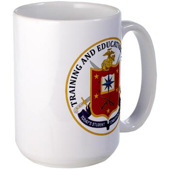 MCTEC - M01 - 03 - Marine Corps Training and Education Command - Large Mug