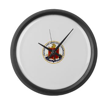 MCTEC - M01 - 03 - Marine Corps Training and Education Command - Large Wall Clock