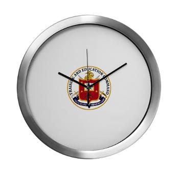 MCTEC - M01 - 03 - Marine Corps Training and Education Command - Modern Wall Clock