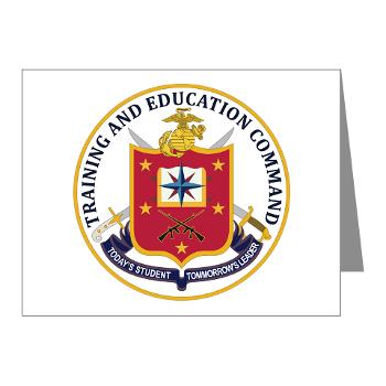 MCTEC - M01 - 02 - Marine Corps Training and Education Command - Note Cards (Pk of 20)