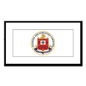 MCTEC - M01 - 02 - Marine Corps Training and Education Command - Small Framed Print