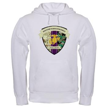 MCWWR - A01 - 03 - Marine Corps Wounded Warrior Regiment - Hooded Sweatshirt