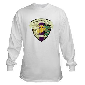 MCWWR - A01 - 03 - Marine Corps Wounded Warrior Regiment - Long Sleeve T-Shirt