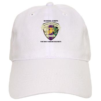 MCWWR - A01 - 01 - Marine Corps Wounded Warrior Regiment with Text - Cap