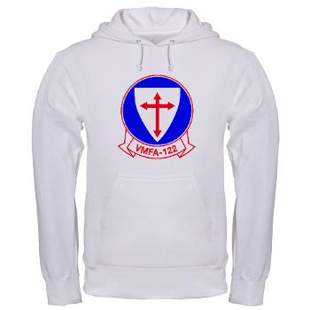 MFAS122 - A01 - 03 - Marine Fighter Attack Squadron 122 - Hooded Sweatshirt