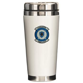 MFAS212 - A01 - 01 - Marine Fighter Attack Squadron 212 - Ceramic Travel Mug