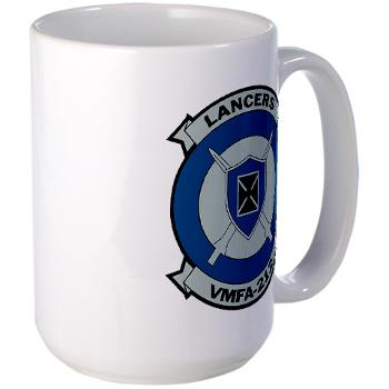 MFAS212 - A01 - 01 - Marine Fighter Attack Squadron 212 - Large Mug