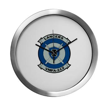 MFAS212 - A01 - 01 - Marine Fighter Attack Squadron 212 - Modern Wall Clock