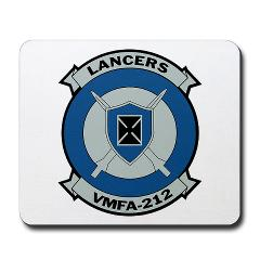 MFAS212 - A01 - 01 - Marine Fighter Attack Squadron 212 - Mousepad