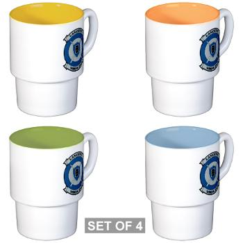 MFAS212 - A01 - 01 - Marine Fighter Attack Squadron 212 - Stackable Mug Set (4 mugs)
