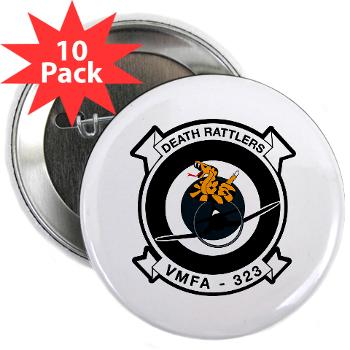"MFAS323 - M01 - 01 - Marine F/A Squadron 323(F/A-18C) - 2.25"" Button (10 pack)"
