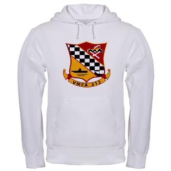 MFAS312 - A01 - 01 - USMC - Marine Fighter Attack Squadron 312 (VMFA-312) - Hooded Sweatshirt