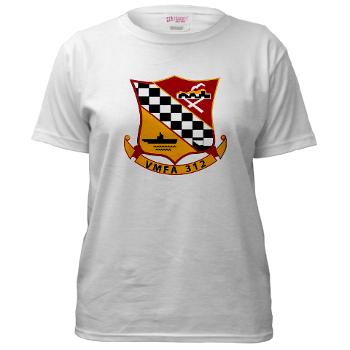 MFAS312 - A01 - 01 - USMC - Marine Fighter Attack Squadron 312 (VMFA-312) - Women's T-Shirt