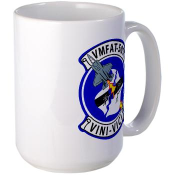MFATS501 - A01 - 01 - USMC - Marine Fighter Attack Training Squadron 501 (VMFAT-501) - Large Mug