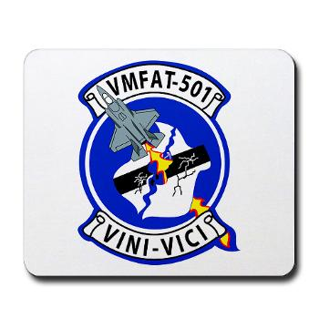 MFATS501 - A01 - 01 - USMC - Marine Fighter Attack Training Squadron 501 (VMFAT-501) - Mousepad