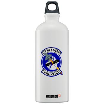 MFATS501 - A01 - 01 - USMC - Marine Fighter Attack Training Squadron 501 (VMFAT-501) - Sigg Water Bottle 1.0L