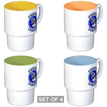 MFATS501 - A01 - 01 - USMC - Marine Fighter Attack Training Squadron 501 (VMFAT-501) - Stackable Mug Set (4 mugs)