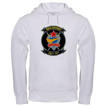 MFTS401 - A01 - 03 - Marine Fighter Training Squadron - 401 - Hooded Sweatshirt
