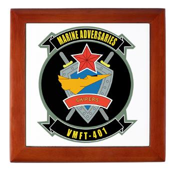 MFTS401 - M01 - 03 - Marine Fighter Training Squadron - 401 - Keepsake Box