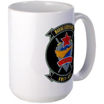 MFTS401 - M01 - 03 - Marine Fighter Training Squadron - 401 - Large Mug