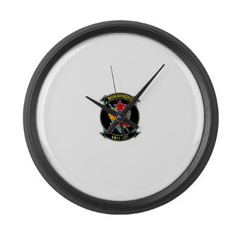 MFTS401 - M01 - 03 - Marine Fighter Training Squadron - 401 - Large Wall Clock