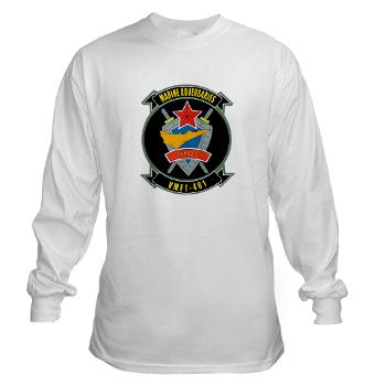 MFTS401 - A01 - 03 - Marine Fighter Training Squadron - 401 - Long Sleeve T-Shirt