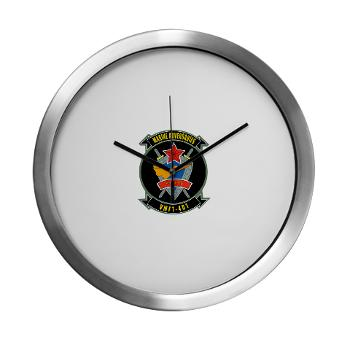 MFTS401 - M01 - 03 - Marine Fighter Training Squadron - 401 - Modern Wall Clock