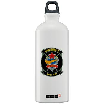 MFTS401 - M01 - 03 - Marine Fighter Training Squadron - 401 - Sigg Water Bottle 1.0L
