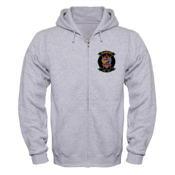MFTS401 - A01 - 03 - Marine Fighter Training Squadron - 401 - Zip Hoodie