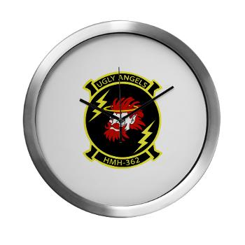 MHHS362 - M01 - 03 - Marine Heavy Helicopter Squadron 362 Modern Wall Clock