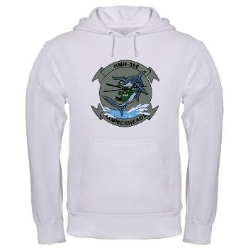 MHHS366 - A01 - 03 - Marine Heavy Helicopter Squadron 366 (HMH-366) Hooded Sweatshirt