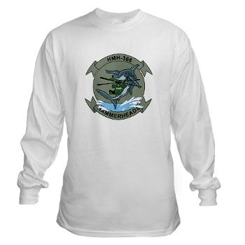 MHHS366 - A01 - 03 - Marine Heavy Helicopter Squadron 366 (HMH-366) Long Sleeve T-Shirt
