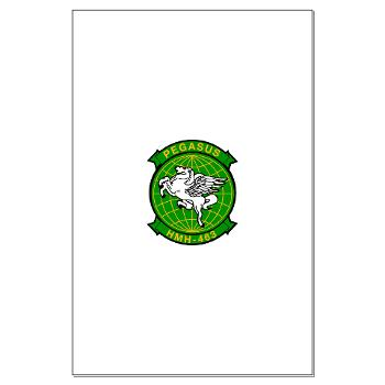 MHHS463 - M01 - 02 - DUI - Marine Heavy Helicopter Squadron 463 - Large Poster
