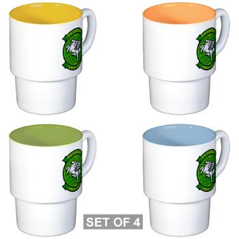 MHHS463 - M01 - 03 - DUI - Marine Heavy Helicopter Squadron 463 - Stackable Mug Set (4 mugs)