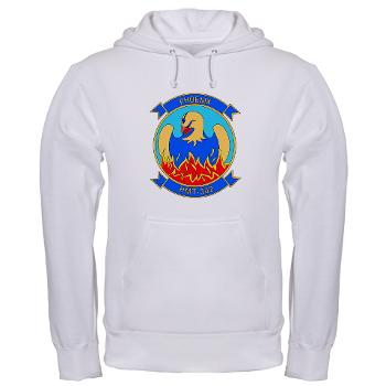 MHHTS302 - A01 - 03 - Marine Heavy Helicopter Training Squadron 302 (HMHT-302) Hooded Sweatshirt