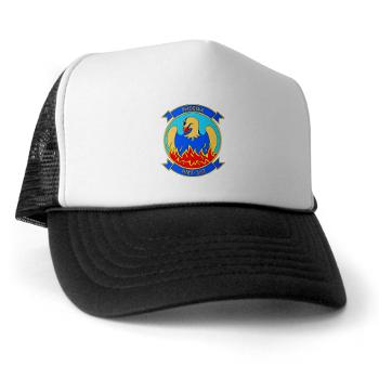 MHHTS302 - A01 - 02 - Marine Heavy Helicopter Training Squadron 302 (HMHT-302) Trucker Hat