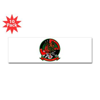 MLAHS167 - M01 - 01 - Marine Light Attack Helicopter Squadron 167 (HMLA-167) Sticker (Bumper 10 pk)
