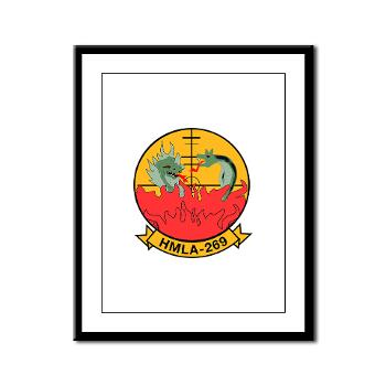 MLAHS269 - M01 - 02 - Marine Light Attack Helicopter Squadron 269 (HMLA-269) - Framed Panel Print