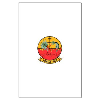 MLAHS269 - M01 - 02 - Marine Light Attack Helicopter Squadron 269 (HMLA-269) - Large Poster