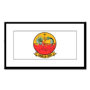 MLAHS269 - M01 - 02 - Marine Light Attack Helicopter Squadron 269 (HMLA-269) - Small Framed Print