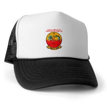 MLAHS269 - A01 - 02 - Marine Light Attack Helicopter Squadron 269 (HMLA-269) with Text - Trucker Hat