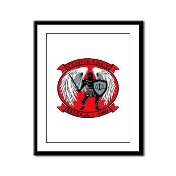 MLAHS469 - M01 - 02 - Marine Light Attack Helicopter Squadron 469 - Framed Panel Print
