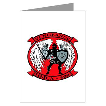 MLAHS469 - M01 - 02 - Marine Light Attack Helicopter Squadron 469 - Greeting Cards (Pk of 10)